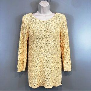 NWOT Dana Buchman Knit Summer Sweater